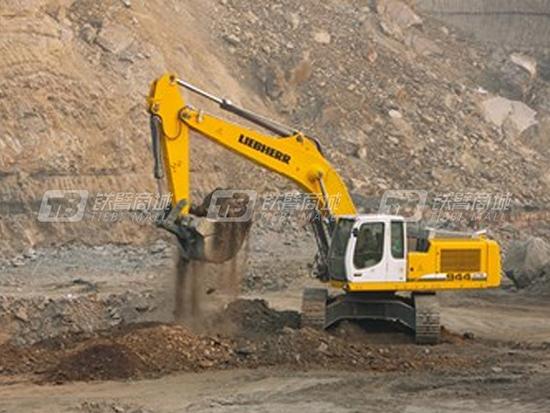 既环保又充满力量的利勃海尔R944CSME挖掘机!