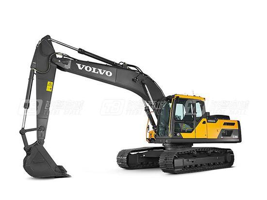 转型成功离不开沃尔沃EC200D挖掘机的帮助!
