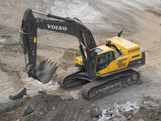 沃尔沃EC380D挖掘机为何让人如此沉迷!