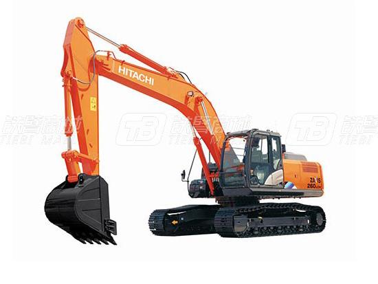 日立ZX260LCH-5A挖掘机的省心之道