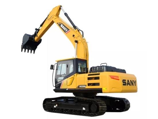 三一SY225H挖掘机:油耗低 操控性好