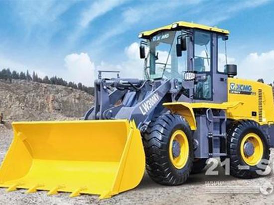给用户带来万分满意的设备:徐工LW300KV装载机