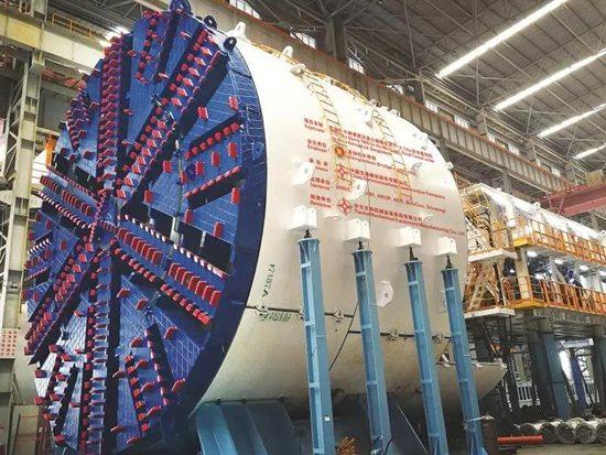 中国出口海外首台超大直径盾构机成就孟加拉国第一座水下隧道贯通