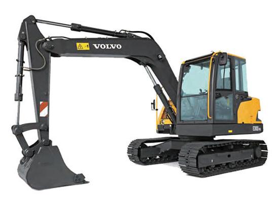 强悍动力,品质非凡:沃尔沃EC80D Pro挖掘机
