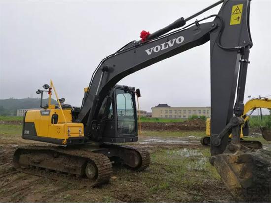 省油耐用、合理赚钱:沃尔沃EC120D挖掘机