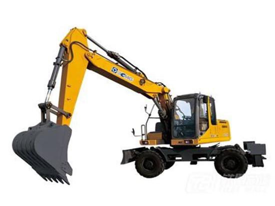 多样化施工游刃有余:徐工XE150WD轮式挖掘机