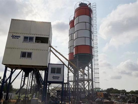 山推建友产品助力非洲加纳项目建设