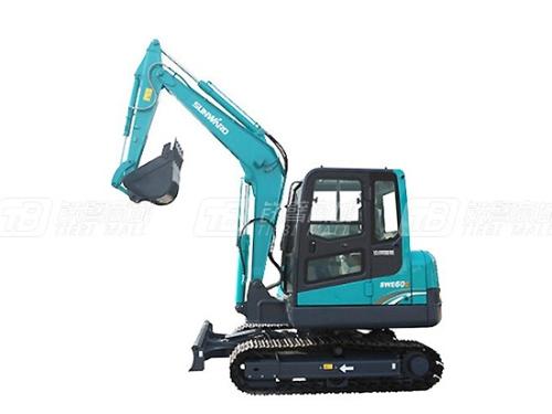 山河智能SWE60E小型挖掘机详细介绍