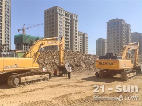 金牌口碑的矿用挖掘机:山推SE500LC-9大型挖掘机