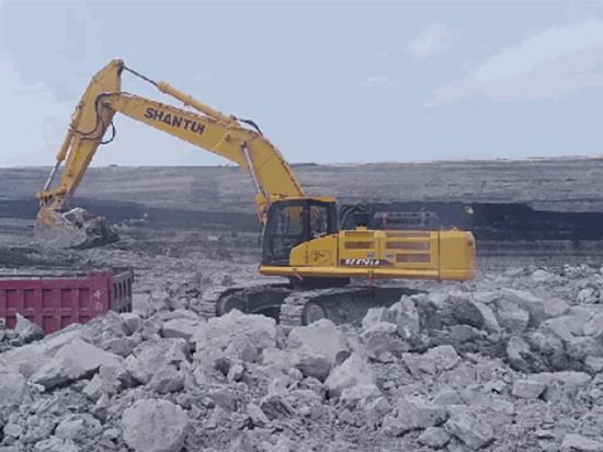 挡不住的魅力:山推SE470LC-9挖掘机