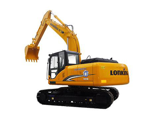 国人骄傲:龙工CDM6220挖掘机