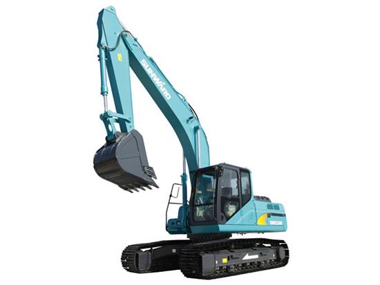20吨挖机中的翘楚:山河智能SWE230E挖掘机