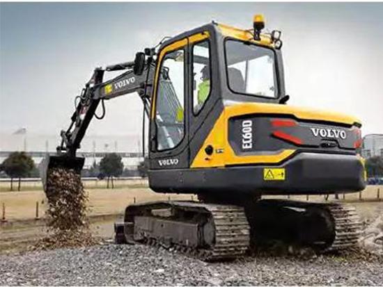 老铁聊车:沃尔沃EC60D挖掘机