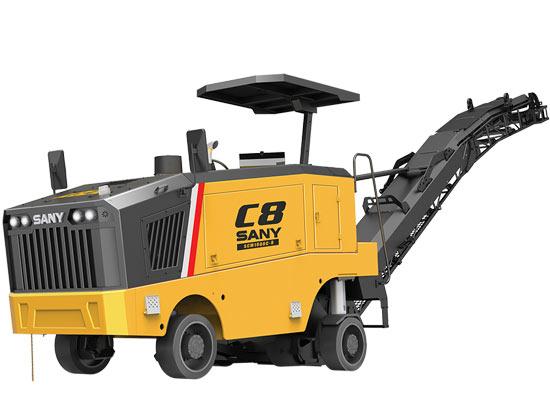 三一SCM1000C-8铣刨机有哪些特点