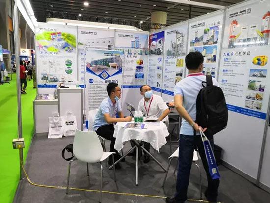 山推建友参加2020广州国际混凝土与砂浆展