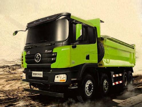 德龙X3000标准版自卸车,实力豪横不惧泄密