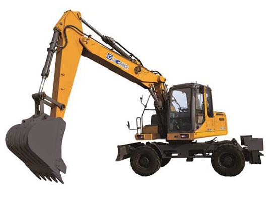 为什么用户买轮挖就认准徐工XE60WA轮式挖掘机?