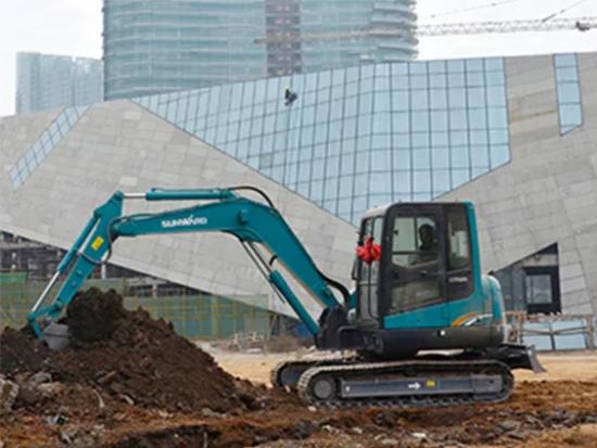 选择山河智能SWE60E挖掘机才是正确的!