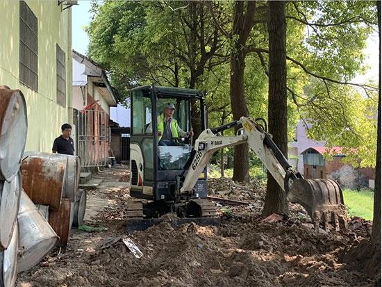救灾一线 | 山猫助力长江水灾重建