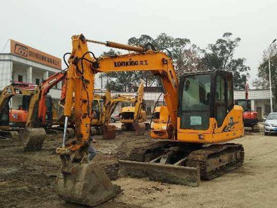 龙工LG6075挖掘机究竟如何?