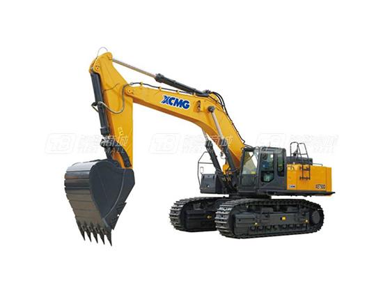 出色的挖掘力:徐工XE750D挖掘机