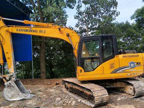 龙工LG6150挖掘机深受喜爱的秘密!
