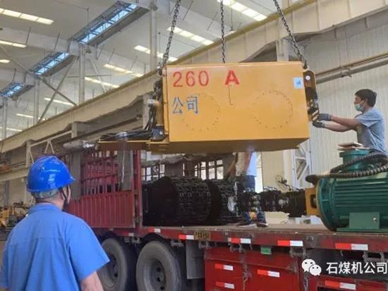 石煤机公司新款掘进机在细分市场受青睐