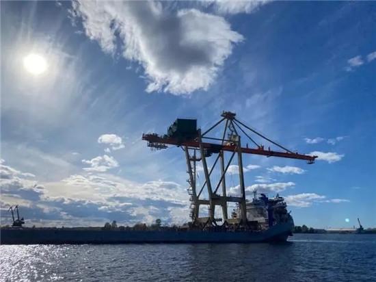 三一大型岸桥波罗的海完美交付