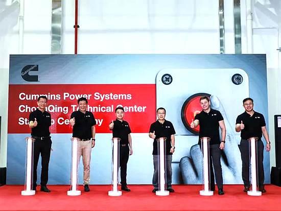 康明斯动力系统事业部重庆技术中心发电机组实验台架点火