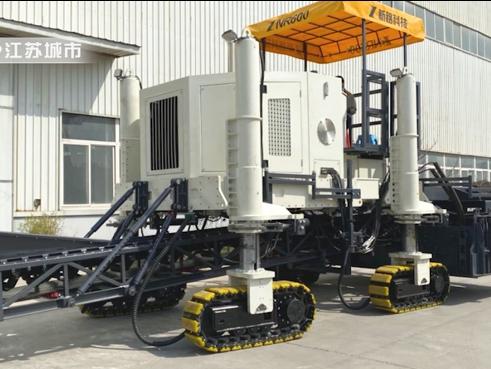 徐州新路科技助推中国滑模摊铺工程行业蓬勃发展