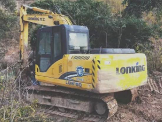 全面解析:龙工LG6150挖掘机