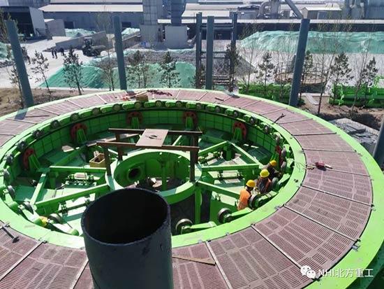 北方重工完成内蒙古丰镇新太球团项目调试工作