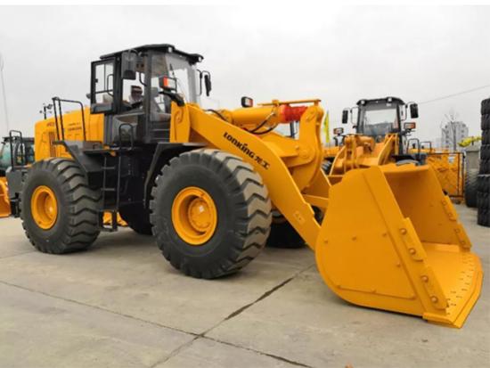 重载工况必选利器:龙工CDM866N轮式装载机