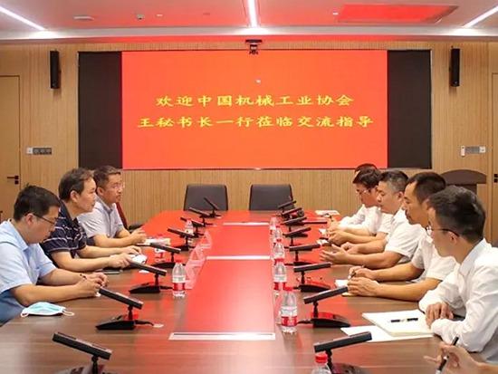BICES 2021走进系列报道之王金星副秘书长走访中国建筑土木建设有限公司