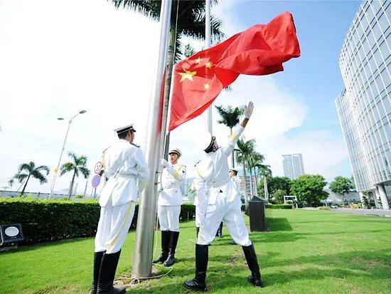 中集庆生,凌宇与兄弟企业同升一面旗