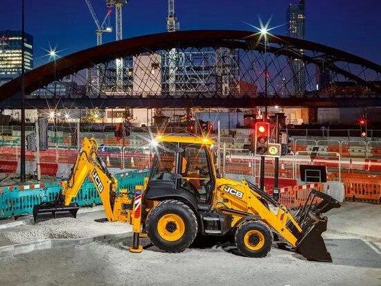 JCB 3CX挖掘装载机 欧五新品重磅上市