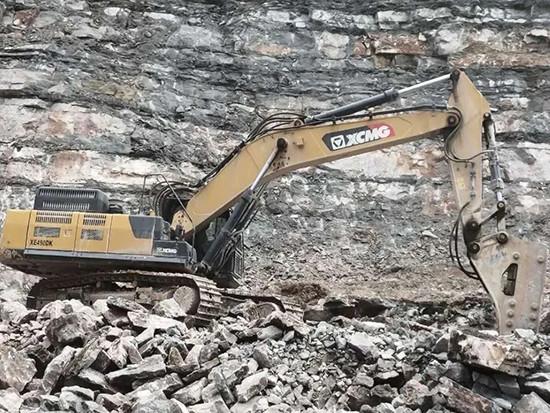矿山利器,悍将徐工|徐工挖机助力宜都绿色矿山发展