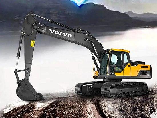 沃尔沃EC210D挖掘机 | 高端之选,享驭征程