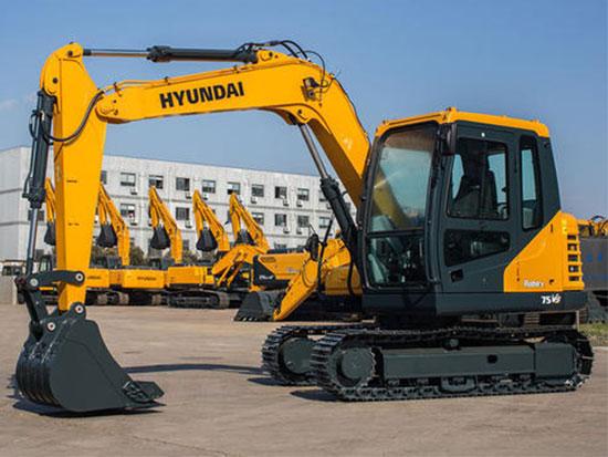 经典中的传承:现代R75VS挖掘机