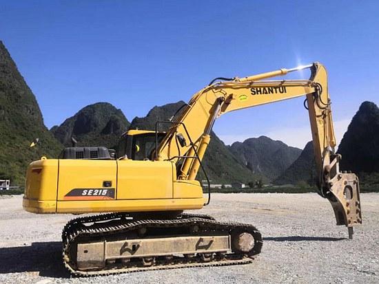 山推挖掘机节油王SE215-9——高效、环保、可靠