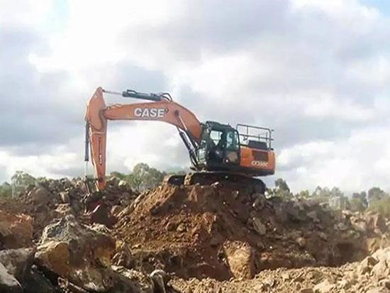 每月要干450小时,凯斯挖机在10000h之内根本用不坏