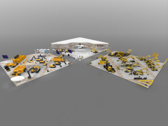 沃尔沃建筑设备与山东临工设立联合展台亮相BAUMA CHINA 2020
