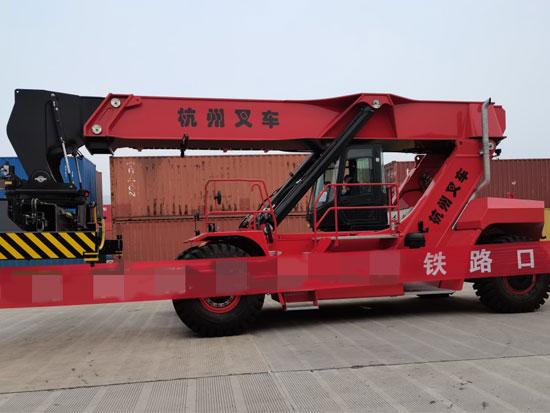 杭叉45吨正面吊设备实用性解析