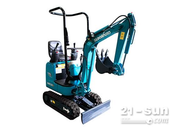 城建小精灵:山河智能SWE08B微型挖掘机