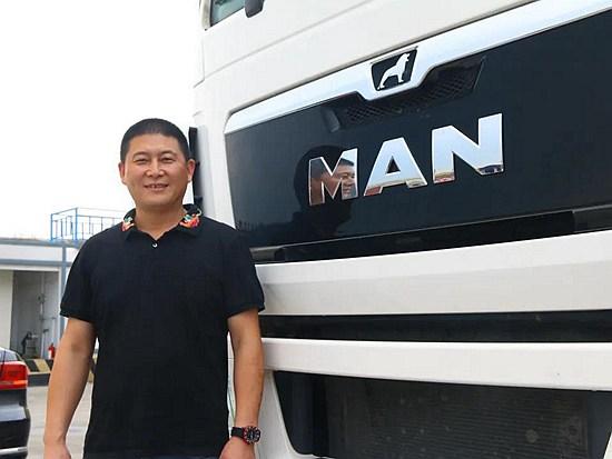鑫森物流用曼恩牵引车打造国内最长货运线路