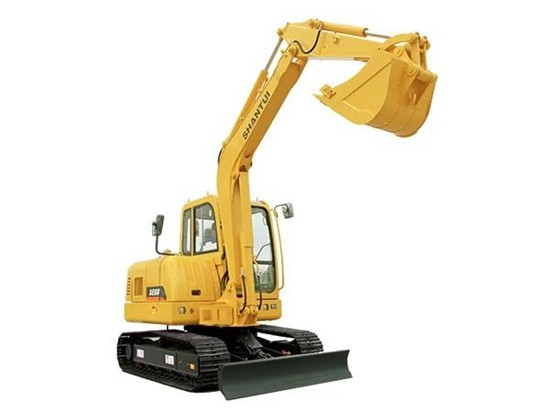 山推挖掘机SE75-9A——超强动力 效率之选