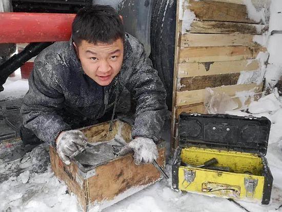【三一优秀服务事迹】冰雪中的战斗