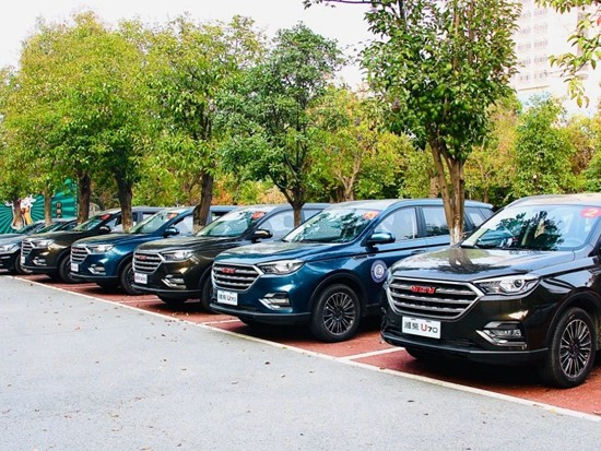 潍柴U70成为第九届内燃机可靠性技术国际研讨会指定会务用车
