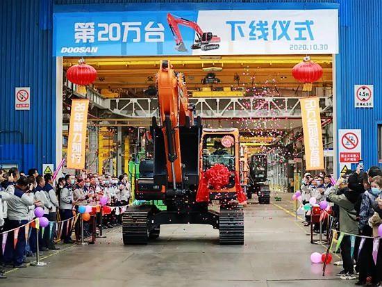 斗山工程机械:26载奋斗之路,20万台再起新程