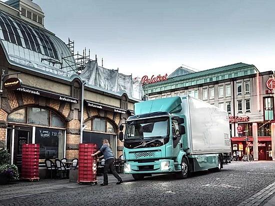 沃尔沃卡车宣布将于2021年在欧洲推出全系列电动卡车